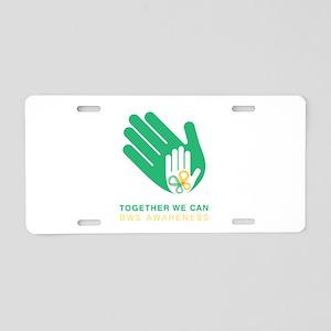 BWS Awareness 2018 Aluminum License Plate