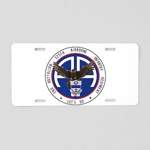 2nd / 325th AIR Aluminum License Plate