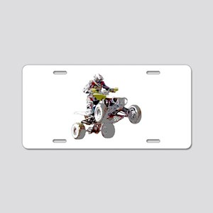 ATV Racing (color) Aluminum License Plate