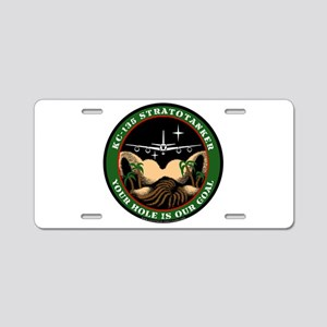 Your Hole is our Goal Aluminum License Plate