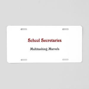 School Sec. Multitasking Marvels Aluminum License