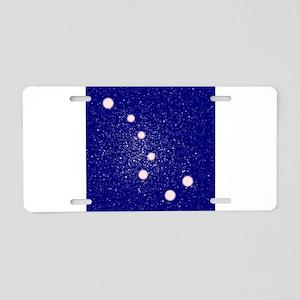 The Big Dipper Constellatio Aluminum License Plate