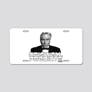 Criswell Predicts Aluminum License Plate