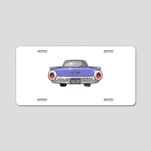 1961 Ford T-Bird Aluminum License Plate