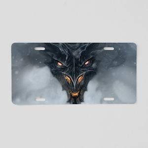 Evil Dragon Aluminum License Plate