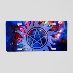 Supernatural Cosmos Aluminum License Plate