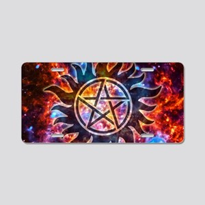 Supernatural Cosmos Aluminum License Plate