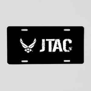 USAF: JTAC Aluminum License Plate
