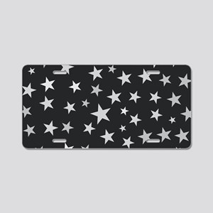 Star Cluster Aluminum License Plate