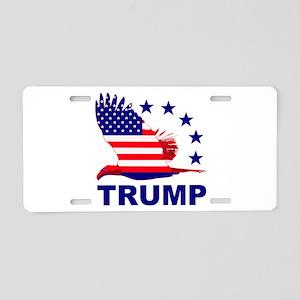Trump For America Aluminum License Plate