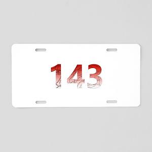 143 Aluminum License Plate