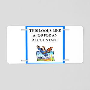 accountant Aluminum License Plate