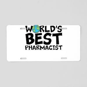 World's Best Pharmacist Aluminum License Plate