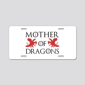 Mother Of Dragons Aluminum License Plate