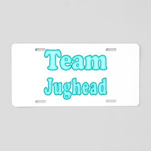 Team Jughead Aluminum License Plate