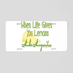 Make Margaritas Aluminum License Plate