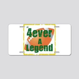 4ever legend3 border football Aluminum License