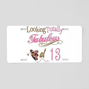 Fabulous 13th Aluminum License Plate