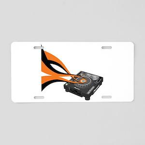 CDJ-1000 Sounds Aluminum License Plate