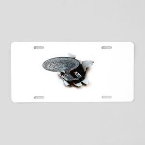 ST: Burster2 Aluminum License Plate