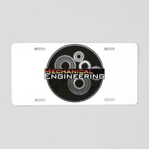 Mechanical Engineering Aluminum License Plate