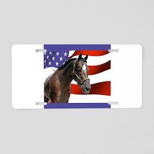 appaloosa flag ornament Aluminum License Plate