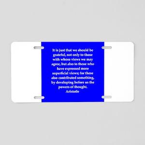 38 Aluminum License Plate