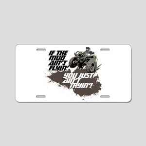 ATV RIDER Aluminum License Plate