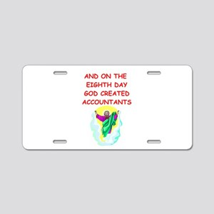 accountants Aluminum License Plate
