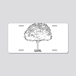 tree of life Aluminum License Plate