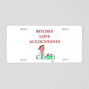 accountantt Aluminum License Plate