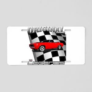 Musclecar 1969 Top 100 Aluminum License Plate