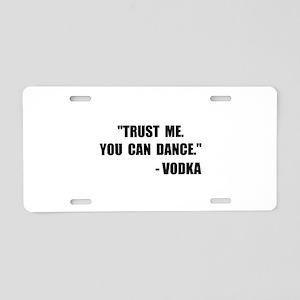 Vodka Dance Aluminum License Plate