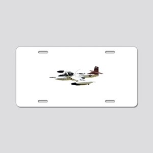 A-37 Dragonfly Aircraft Aluminum License Plate