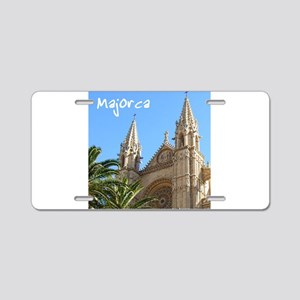 Majorca Church Aluminum License Plate