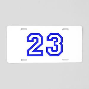 #23 Aluminum License Plate