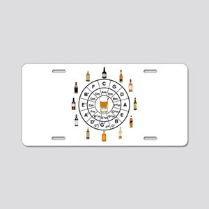 Circle of Whiskey 5th Aluminum License Plate