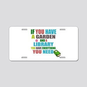 If you have a garden and a Library Aluminum Licens