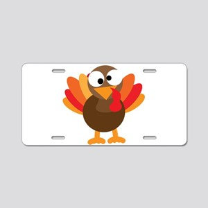 Funny Turkey Aluminum License Plate