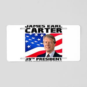 39 Carter Aluminum License Plate
