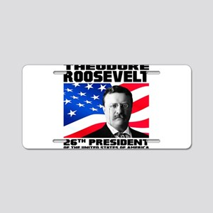 26 Roosevelt Aluminum License Plate