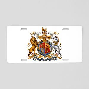 British Royal Coat of Arms Aluminum License Plate