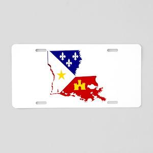 Acadiana State of Louisiana Aluminum License Plate