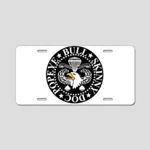 Band of Brothers Crest Aluminum License Plate