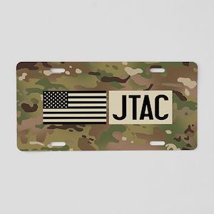U.S. Air Force: JTAC (Camo) Aluminum License Plate
