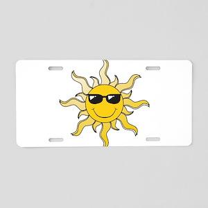 3047129 Aluminum License Plate