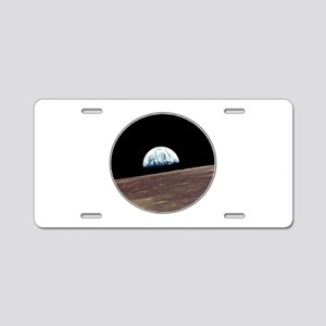 WHAT A VIEW Aluminum License Plate