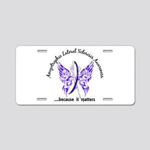 ALS Butterfly 6.1 Aluminum License Plate