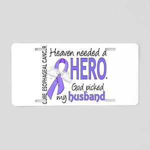 Esophageal Cancer HeavenNee Aluminum License Plate