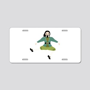 Leaping Lord Aluminum License Plate